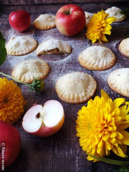 """Almás """"egykezes"""" piték- Apple hand pie"""